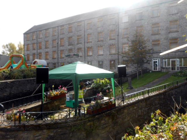 The Mill all set for The Duck Races