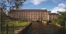 View of The Mill from the River Liffey